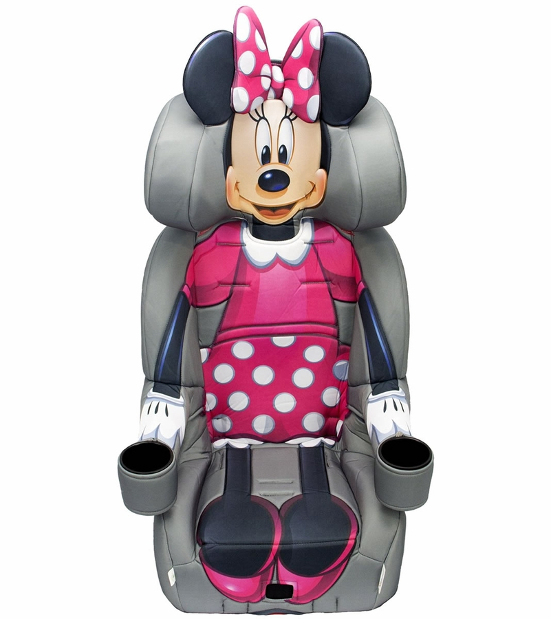 Kidsembrace Harness Booster Car Seat Minnie Mouse