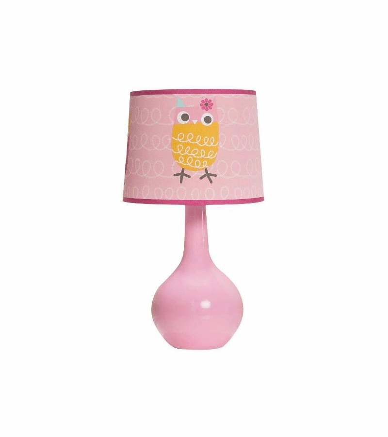 Kidsline Zutano Owls Lamp Base Shade