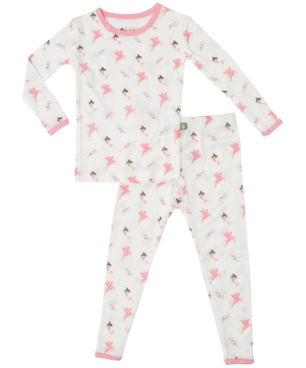 Pjs for Toddlers Made of Soft Bamboo Rayon Material KYTE BABY Toddler Pajama Set