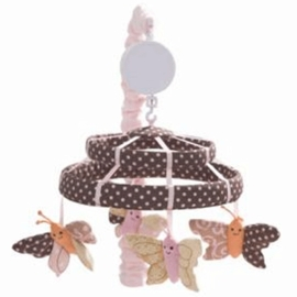 Lambs & Ivy Butterfly Dreams Musical Mobile