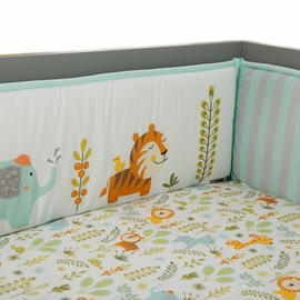 Lambs & Ivy Dena Happi Jungle Crib Bumper