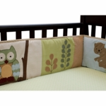 Lambs & Ivy Enchanted Forest Crib Bumper