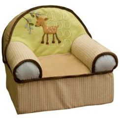 Lambs & Ivy Enchanted Forest Slipcover Chair