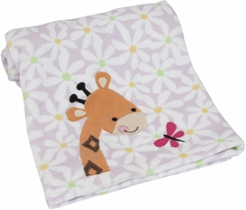 Lambs & Ivy Ladybug Jungle Blanket