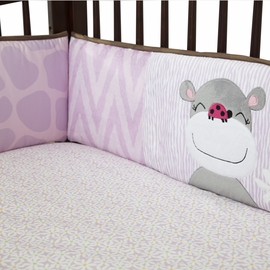 Lambs & Ivy Ladybug Jungle Crib Bumper