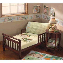 Lambs & Ivy Papagayo 4 Piece Toddler Bedding Set
