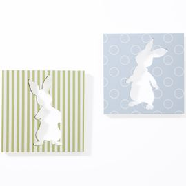 Lambs & Ivy Peter Rabbit™ Wall Decor - Set of 2