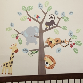 Lambs & Ivy Treetop Buddies Large Wall Appliques