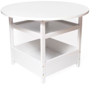 Lipper International Child's Activity Table - White