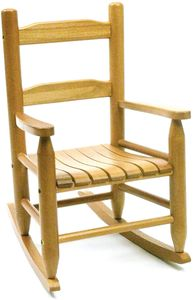 Lipper International Child's Rocking Chair - Natural