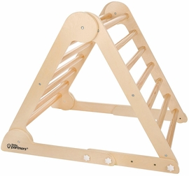 Little Partners Learn �N Climb Triangle - Natural (Fully Assembled)
