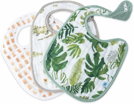 Little Unicorn Cotton Classic Bib 3-Pack - Gators