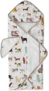 Little Unicorn Cotton Hooded Towel & Washcloth - Woof