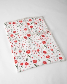 Little Unicorn Cotton Muslin Big Kid Quilt - Summer Poppy