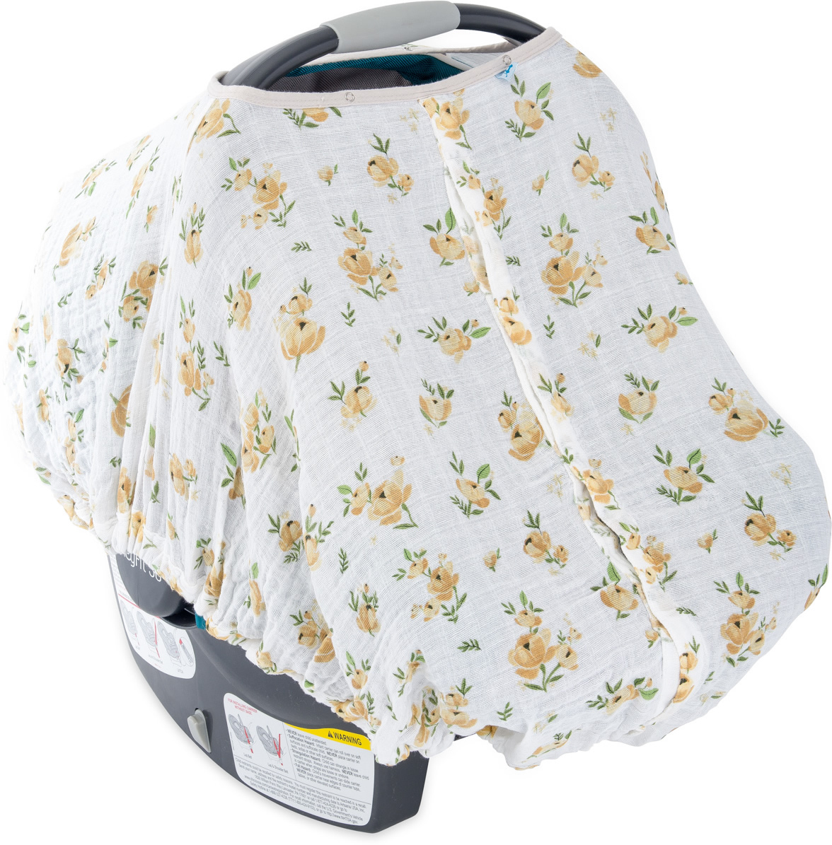 ITEM Little Unicorn Cotton Muslin Car Seat Canopy Family