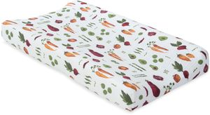 Little Unicorn Cotton Muslin Changing Pad Cover - Farmers Market