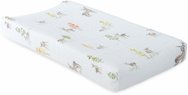 Little Unicorn Cotton Muslin Changing Pad Cover - Oh Deer