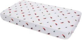 Little Unicorn Cotton Muslin Fitted Crib Sheet - Little Wings