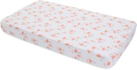 Little Unicorn Cotton Muslin Fitted Crib Sheet - Pink Ladies