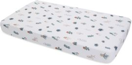 Little Unicorn Cotton Muslin Fitted Crib Sheet - Prickle Pots