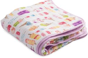 Little Unicorn Cotton Muslin Quilt - Brain Freeze