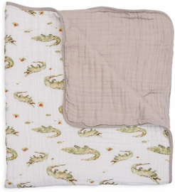 Little Unicorn Cotton Muslin Quilt - Gators