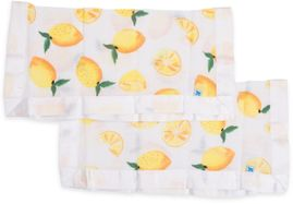 Little Unicorn Cotton Muslin Security Blanket, 2-Pack - Lemon