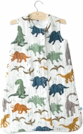 Little Unicorn Cotton Muslin Sleep Bag, Medium - Dino Friends