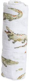 Little Unicorn Cotton Muslin Swaddle - Gators