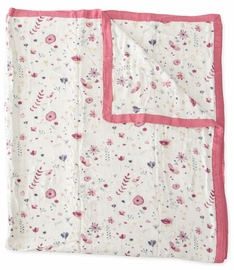 Little Unicorn Deluxe Muslin Big Kid Quilt - Fairy Garden