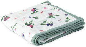 Little Unicorn Deluxe Muslin Quilt - Berry Patch