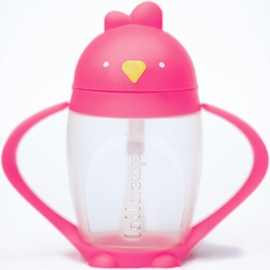 Lollaland Lollacup Infant & Toddler Straw Cup - Posh Pink