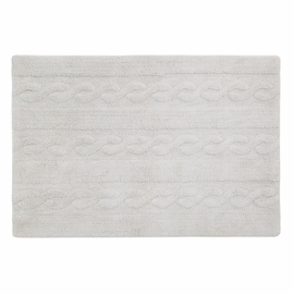 "Lorena Canals Braids Rug - Pearl Grey (2' 6"" x 4')"