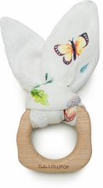Loulou Lollipop Bunny Ear Teether - Woodland Gnome