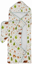 Loulou Lollipop Hooded Towel Set - Forest Friends