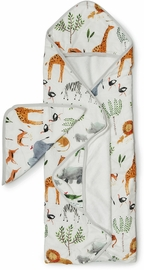 Loulou Lollipop Hooded Towel Set - Safari