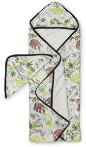 Loulou Lollipop Hooded Towel Set - Sloth