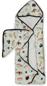 Loulou Lollipop Hooded Towel Set - Sushi