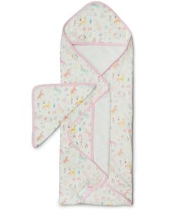 Loulou Lollipop Hooded Towel Set - Unicorn Dream