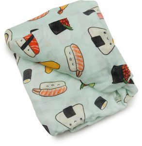 Loulou Lollipop Luxe Fitted Crib Sheet - Sushi