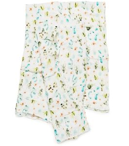 Loulou Lollipop Luxe Muslin Swaddle - Cactus Floral