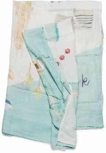 Loulou Lollipop Luxe Muslin Swaddle - New York