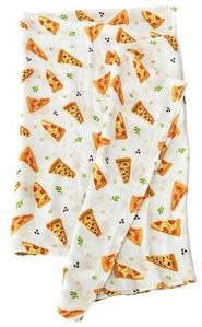 Loulou Lollipop Luxe Muslin Swaddle - Pizza