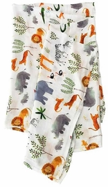 Loulou Lollipop Luxe Muslin Swaddle - Safari