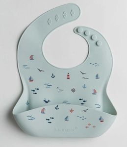Loulou Lollipop Silicone Bib - Set Sail