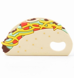 Loulou Lollipop Silicone Teether - Taco