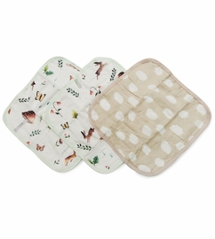 Loulou Lollipop Washcloth Set - Woodland Gnome