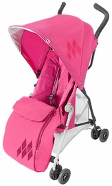 Maclaren Mark II Footmuff - Carmine Rose