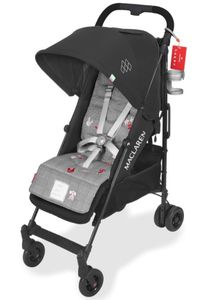 Maclaren Quest Arc Style Set - Black/Gray
