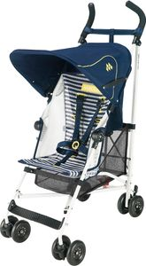 Maclaren Volo Stroller - White Nautical Stripe